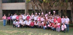 GasBrasiliano e HP promovem ação de conscientização sobre a prevenção do câncer de mama