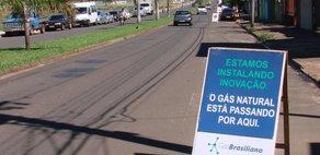 GasBrasiliano inicia obras em Cravinhos e Lençóis Paulista